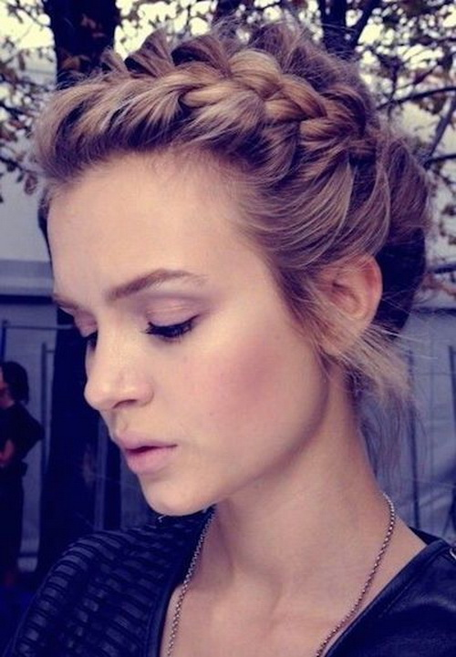 Braided Bangs Style
