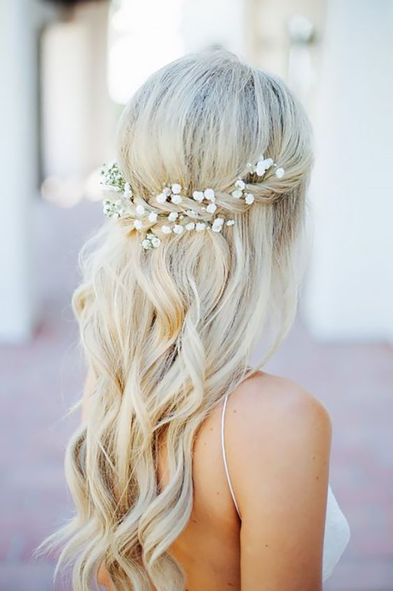 How to braid wedding style hair