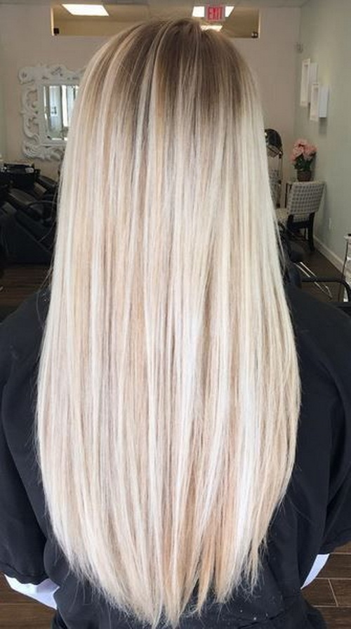 blond hair dyeing